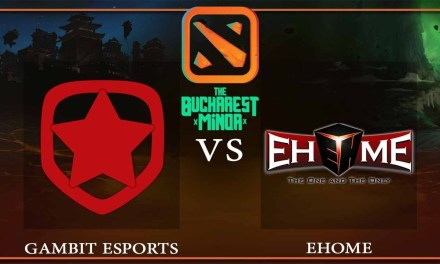 Gambit Esports vs EHOME Game 2 – The Bucharest Minor – Dota 2