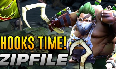 Zipfile Pudge [PERFECT HOOKS TIME] Dota 2