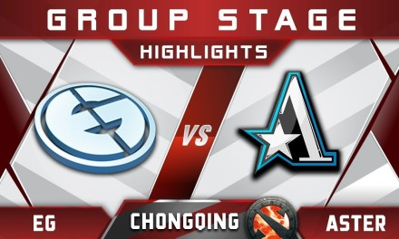EG vs Aster Chongqing Major CQ Major Highlights 2019 Dota 2