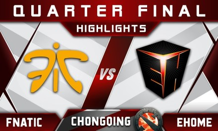 Fnatic vs Ehome Quarter Final Chongqing Major CQ Major Highlights 2019 Dota 2