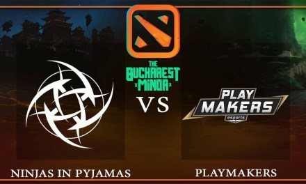 Ninjas in Pyjamas vs Playmakers Esports Game 1 – The Bucharest Minor – Dota 2