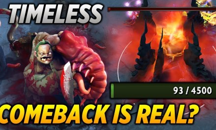 TIMELESS PUDGE [COMEBACK IS REAL?!] dota 2