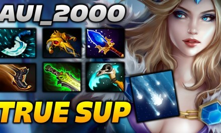Aui 2000 Crystal Maiden TRUE SUPPORT Highlights Dota 2