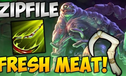 Zipfile Pudge Highlights [FRESH MEAT!] Dota 2