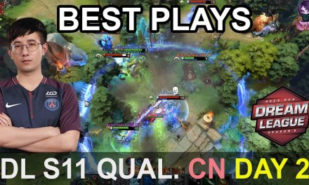 DreamLeague S11 Major BEST PLAYS Qualifier China Day 2 Highlights Dota 2 Time 2 Dota #dota2