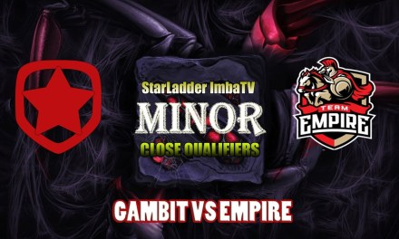 Gambit vs Empire Game 3 Bo3 | Group Stage SLI MINOR QUALIFER