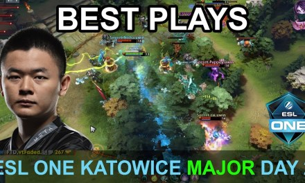 ESL One Katowice 2019 BEST PLAYS Day 2 Highlights Dota 2 Time 2 Dota #dota2 #eslone