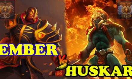 Miracle Ember destroy Huskar Ranked Match