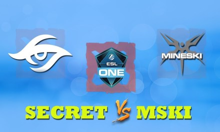 Secret vs Mineski GAME 1 Bo2 | Group Stage ESL One Katowice 2019