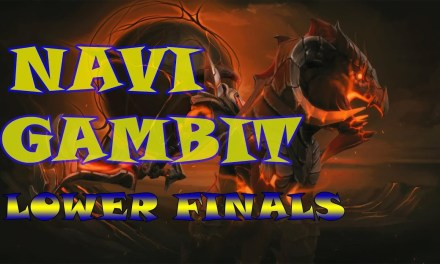Navi vs Gambit Game 2 Bo3 | Losers' Finals WePlay Valentine Madness
