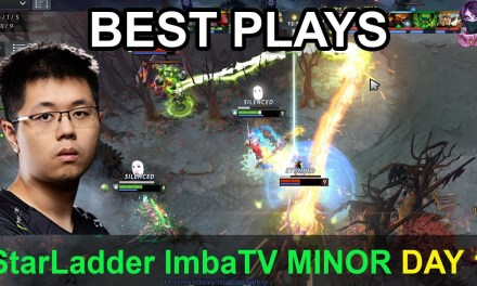 StarLadder ImbaTV Dota 2 Minor BEST PLAYS Day 1 Highlights Dota 2 Time 2 Dota #dota2