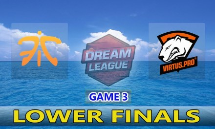 Fnatic vs VP | Game 3 Bo3 Lower Finals DreamLeague Season 11