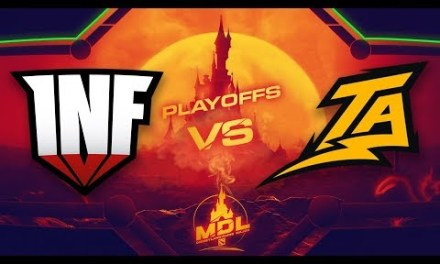 Infamous vs Thunder Predator Game 1 – MDL Paris Major SA Qualifiers: Losers' Round 2