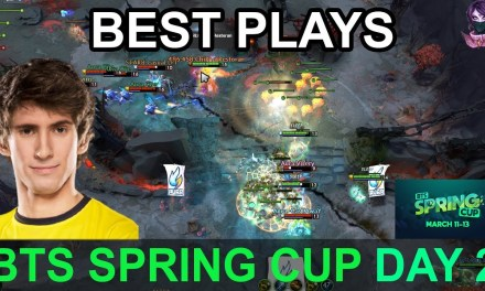 BTS Spring Cup BEST PLAYS DAY 2 Highlights Dota 2 Time 2 Dota #dota2 #btscup