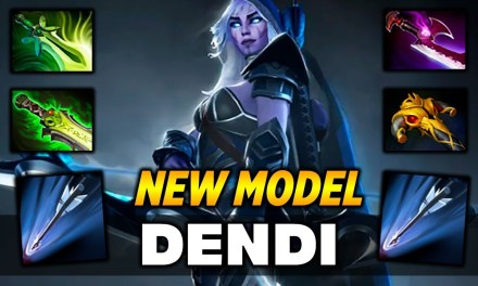 Dendi Drow Ranger New Model Dota 2