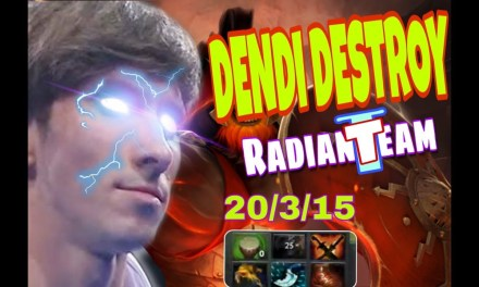 DENDI play Mars (New hero) + ACE destroy Resolus1on team.