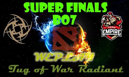 NiP vs Empire GAME 2 BO7 | SUPER FINALS WePlay Tug of War Radiant