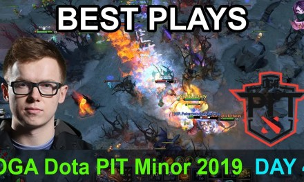 OGA Dota PIT Minor 2019 BEST PLAYS DAY 4 Highlights Dota 2 Time 2 Dota #dota2 #dotapit