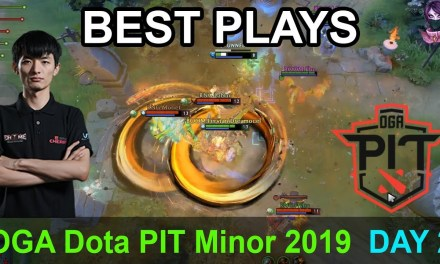 OGA Dota PIT Minor 2019 BEST PLAYS DAY 2 Highlights Dota 2 Time 2 Dota #dota2 #dotapit