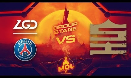 PSG.LGD vs Royal Game 1 – MDL Paris Major CN Qualifiers: Group Stage