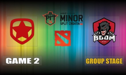 Gambit vs Boom ID Game 2 Bo3 Group Stage | OGA Dota PIT Minor
