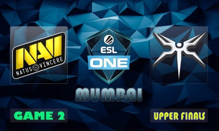 NAVI vs MSKI Game 2 Bo3 Upper Finals | ESL One Mumbai 2019