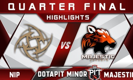 NiP vs Majestic Quarter Final OGA Dota Pit Minor 2019 Highlights Dota 2