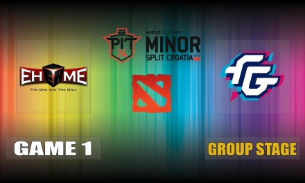 EHOME vs FWD Game 1 Bo3 Group Stage | OGA Dota PIT Minor