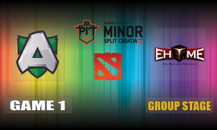 Alliance vs EHOME Game 1 Bo3 Group Stage | OGA Dota PIT Minor
