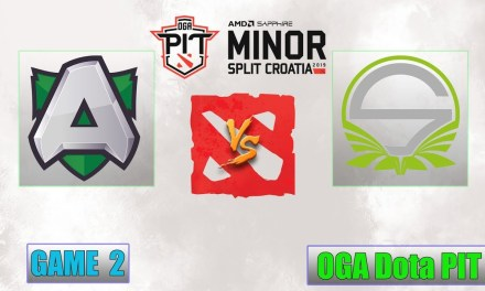 Alliance vs Singularity Game 2 Bo3 | OGA Dota PIT Minor Qualifier