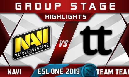 NaVi vs Team Team [EPIC] ESL One Mumbai 2019 Highlights Dota 2