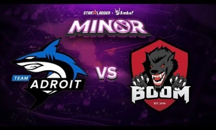 Adroit vs BOOM ID Game 2 – SL ImbaTV Minor SEA Qualifier: Losers' Round 1