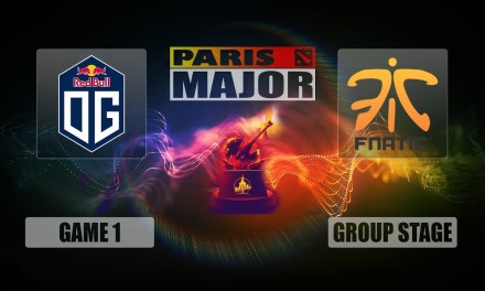 OG vs Fnatic Paris Major | Group Stage Bo3 Game 1