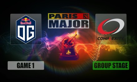 OG vs COL Paris Major | Decider Match Bo3 Game 1