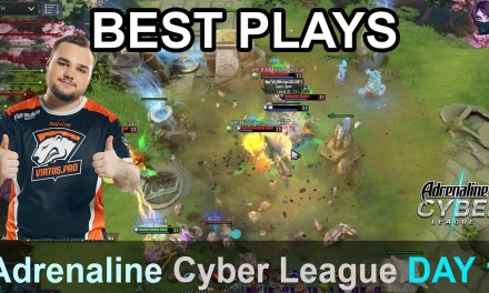 Adrenaline Cyber League BEST PLAYS DAY 1 Highlights Dota 2 Time 2 Dota #dota2 #acl