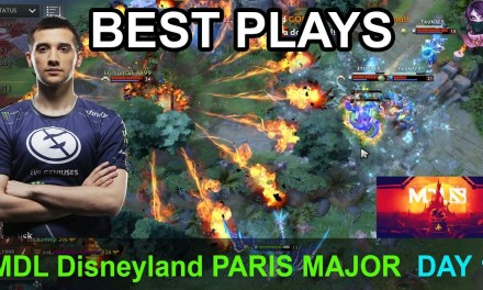 MDL Disneyland® Paris Major BEST PLAYS DAY 1 GROUP C-D Highlights Dota 2 Time 2 Dota #dota2 #mdl
