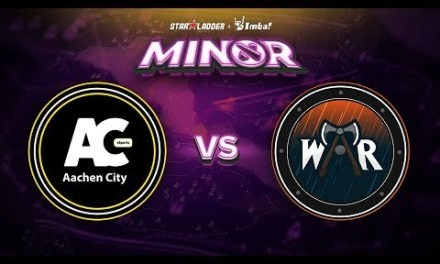 Aachen vs Wind and Rain Game 1 – SL ImbaTV Minor EU Qualifier: Group Stage