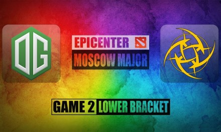 OG vs NiP Game 2 EPICENTER MAJOR Qualifier | Bo3 Lower Bracket R1