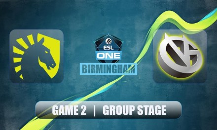 WHAT A GAME ! Liquid vs VG | ESL One Birmingham | Group Stage Bo2 Game 2