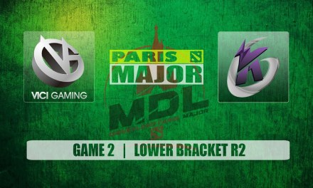 VG vs KG Paris Major | Lower Bracket R2 Bo3 Game 2