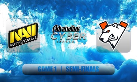 Navi vs VP | Adrenaline Cyber 2019 | Semifinals Bo3 Game 1