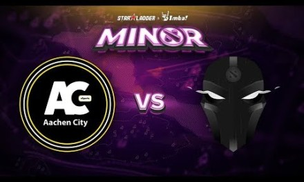 Aachen vs The Final Tribe Game 2 – SL ImbaTV Minor EU Qualifier: Losers' Round 1