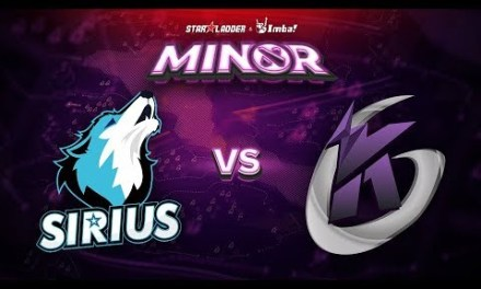 Sirius vs Keen Gaming Game 2 – SL ImbaTV Minor CN Qualifier: Losers' Finals