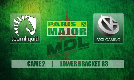 Liquid vs VG Paris Major | Lower Bracket R3 Bo3 Game 2