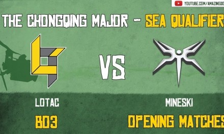 [Highlights] Lotac vs Mineski | BO3 | The ChongQing Major – SEA Qualifier | Opening Matches