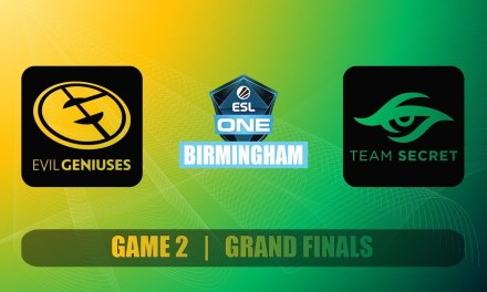 EG vs SECRET Grand Finals ESL One Birmingham Bo5 Game 2