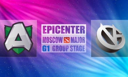 Alliance vs VG Game 1 EPICENTER Major | Group Stage Winners' Match Bo3