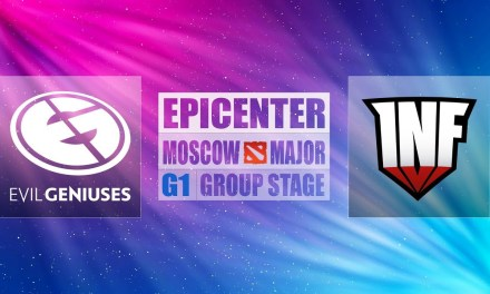 EG vs Infamous Game 1 EPICENTER Major | Group Stage Opening Matches Bo3