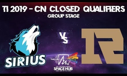 Sirius vs Royal Never Give Up – TI9 CN Regional Qualifiers: Group Stage
