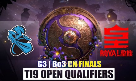 Newbee vs Royal Game 3 China FINALS #2 | The International 9 Open Qualifiers